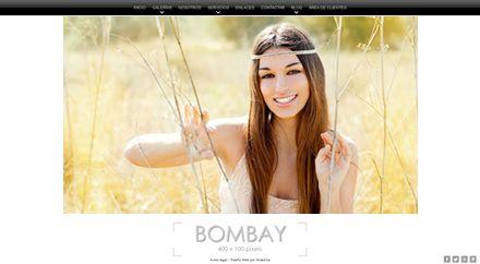 Web para Fotógrafo Bombay