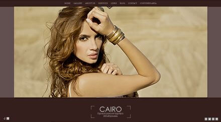 Web para fotógrafo Cairo
