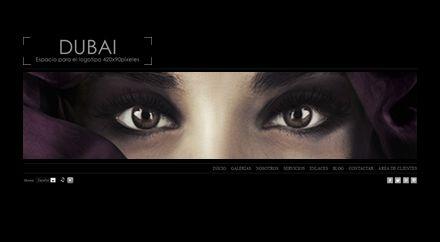 Web para Fotógrafo Dubai