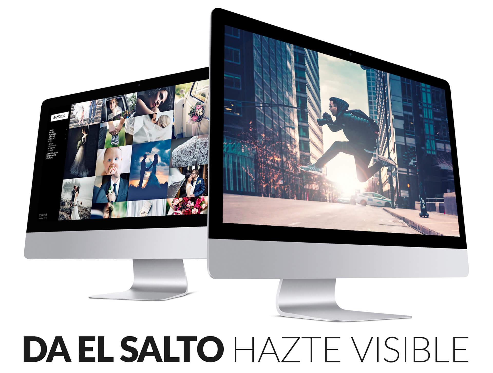 Webs para Fotógrafos y Creativos en todos los dispositivos