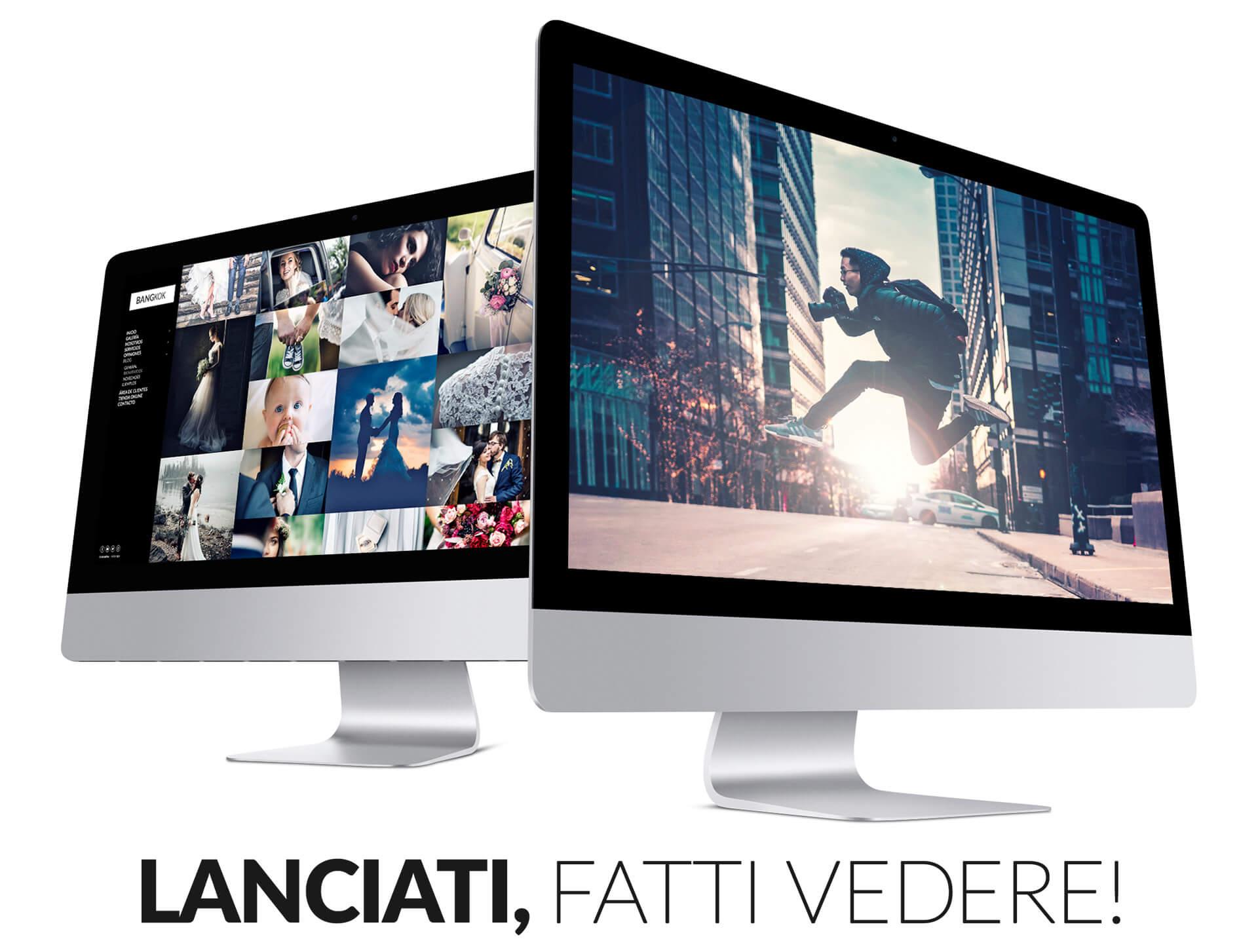 Siti web per fotografi in tutti i dispositivi