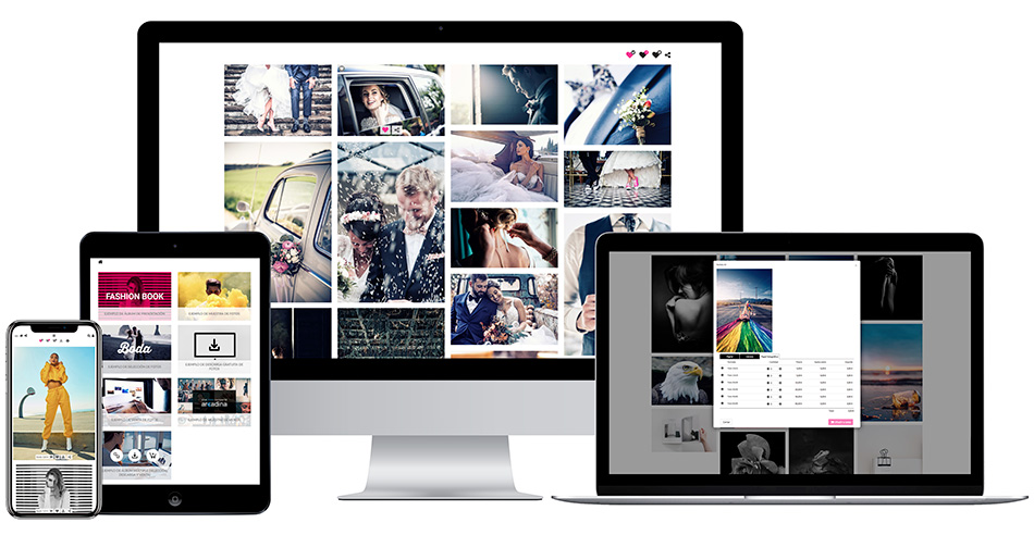 How to send photos to a customer or proof photos online