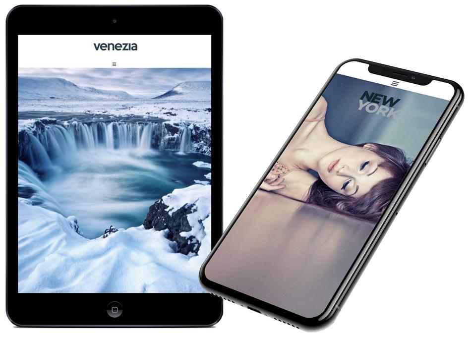 Webs adaptadas a tablets y smartphones