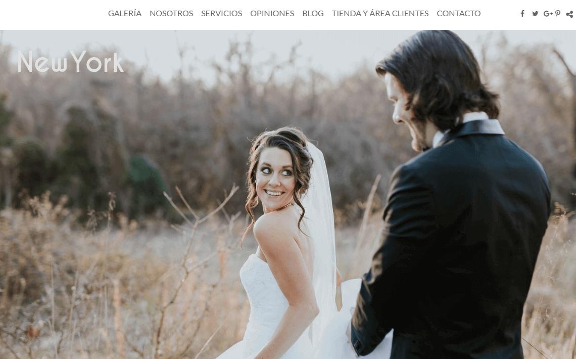 Crear una web de fotografía