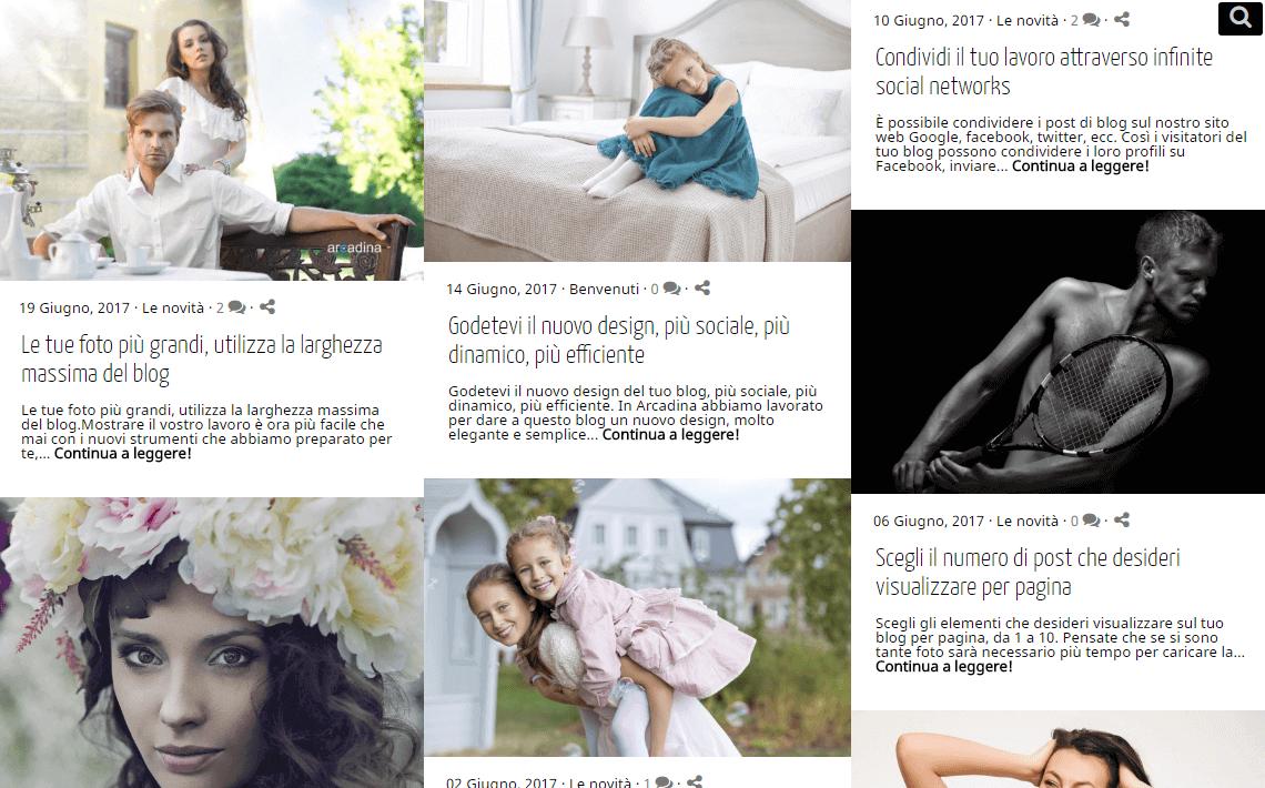 Blog per i fotografi