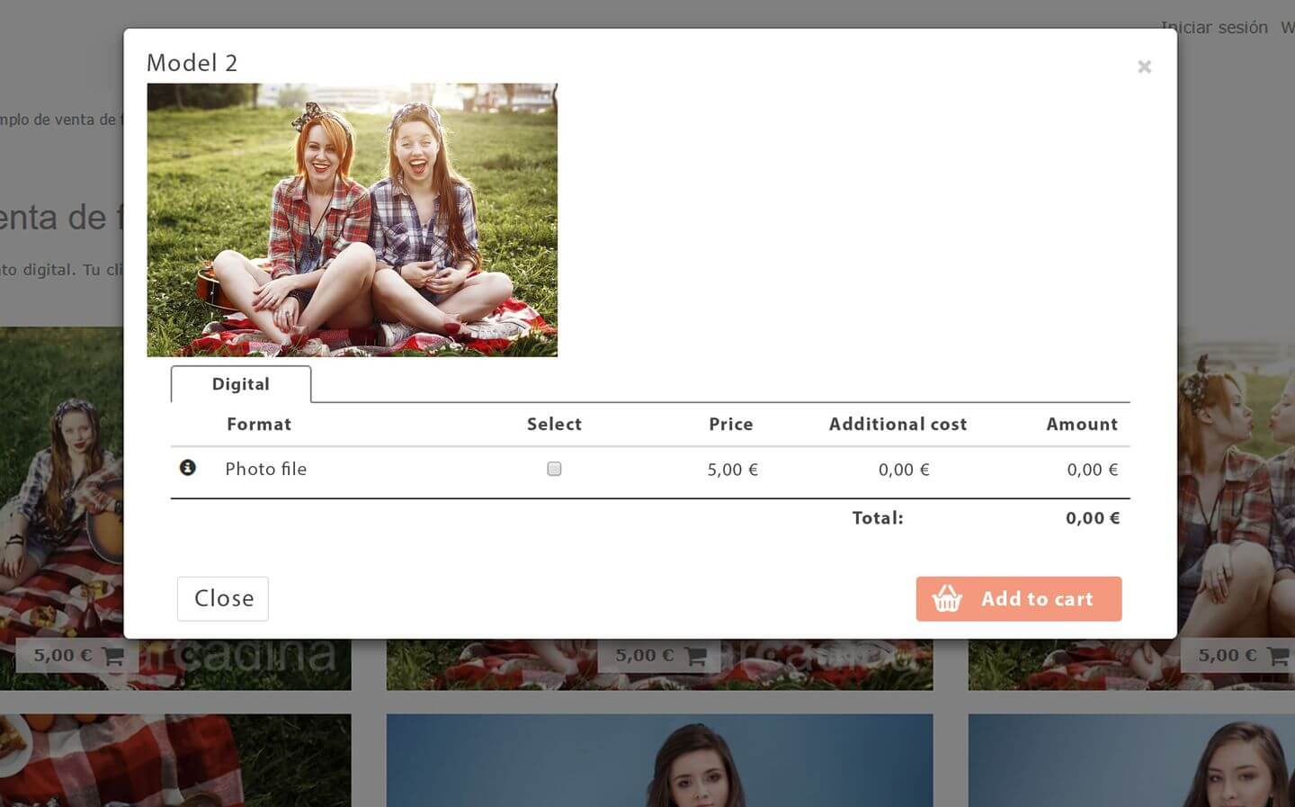 Sell your own photos