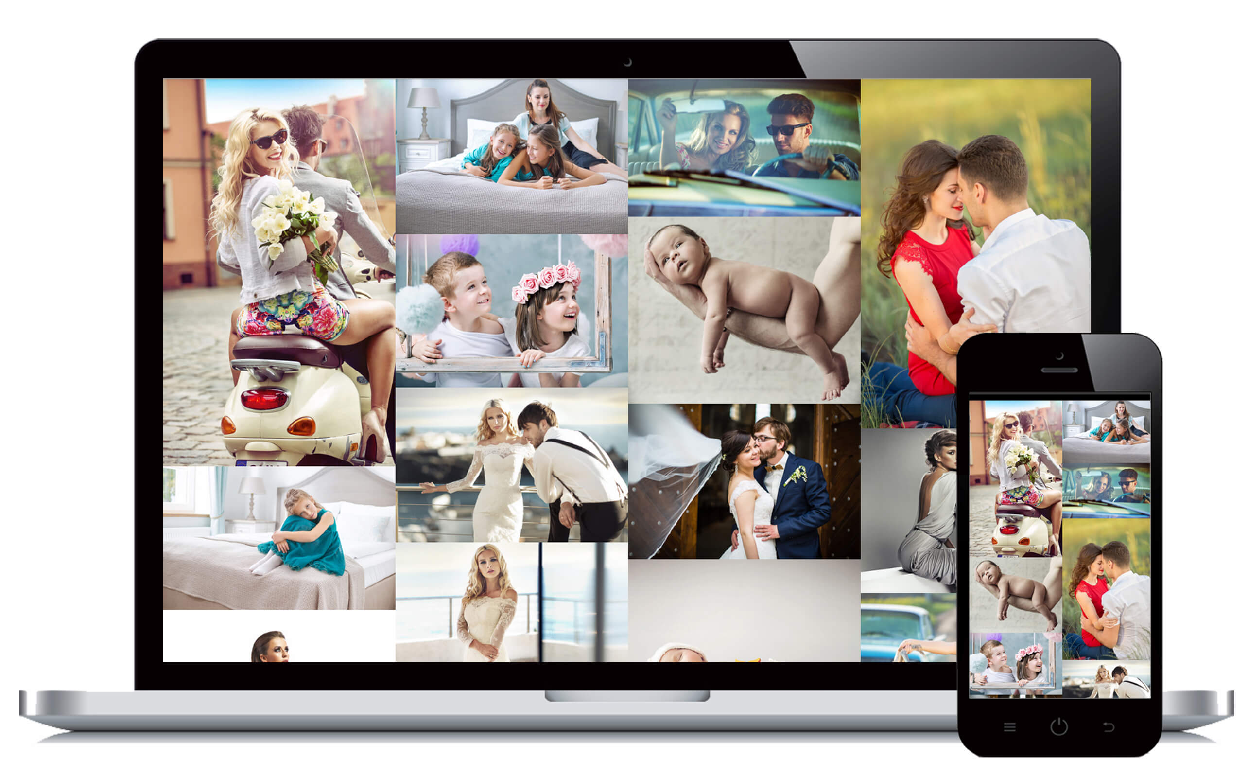 Photography websites for pc and mac, android and iphone
