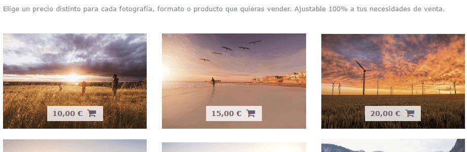 Arcadina - Tu propia página de venta