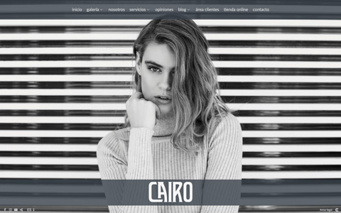 Photographer Website - Theme cairo