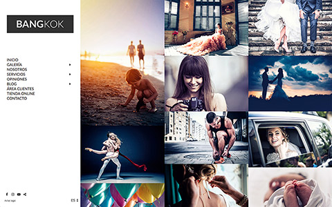 Photographer Website - Theme bangkok